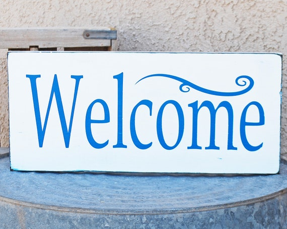 welcome sign coloring pages - photo#46