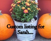 Custom listing for Sarah- Two purple dog scarfs