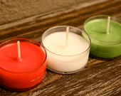 CHRISTMAS & WINTER Scents--Sample Tea Light Candle--FREE Shipping