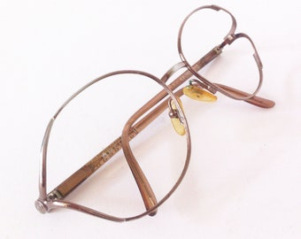 Christian Dior Vintage metal glasses