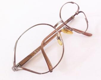 Christian Dior Vintage metal glasses