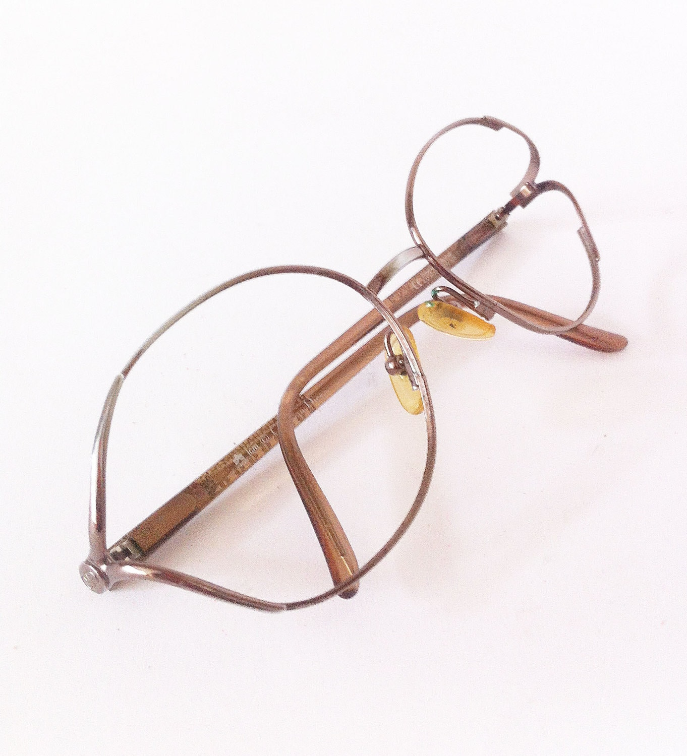Glasses Metal Frame Dior : Christian Dior Vintage metal glasses by altmeansold on Etsy