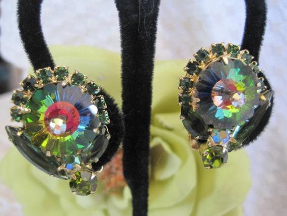 Juliana Watermelon Margarita Rivoli Earrings Book Piece