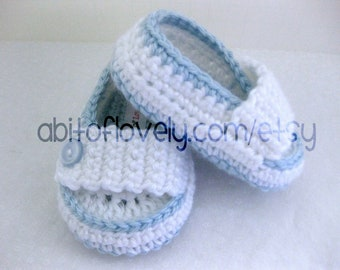 Baby Boy, Christening Shoes, Slippers, Booties, Baby Blue, Newborn Baby, Newborn Photos, Photo Prop, Newborn Photographer