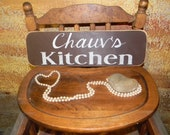 Personalizable Kitchen Sign