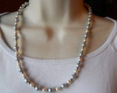 Bubbles - Single Strand Beaded Necklace