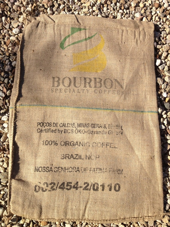 Burlap/Jute Coffee Sack, Bag (Brazil)