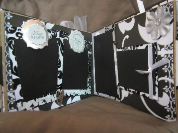 Wedding Album, Premade Scrapbook Album by Island Lilly Designs