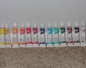Set of 13 Oil Paints