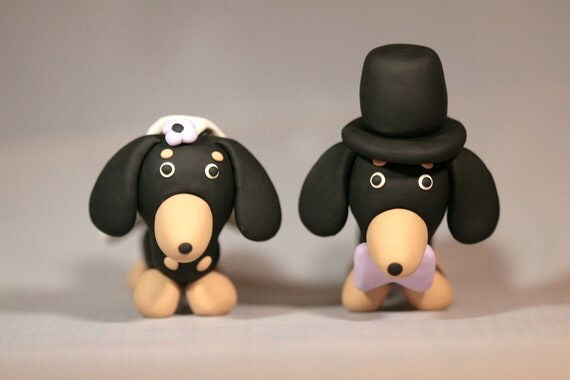 Wiener Dog Cake Topper