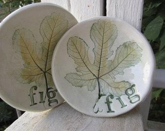 Fig Leaf Bowl Set
