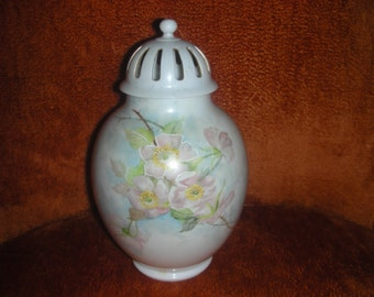 1882 / 1890 Signed Limoges Porcelain Potpourri Jar....