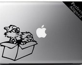 Vinyl Decal - Calvin & Hobbes inspired decal for Macbooks, Laptops, Cars, etc...