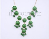 NEW: Green Statement Necklace