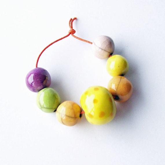 Beads, Ceramic Beads, handmade in South Africa