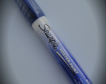 Sharpie Water-Based Extra-Fine Poster Paint Markers - Blue
