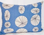 Retro Cushion Cover - Size 16 inch x 12 inch  - Made in the UK
