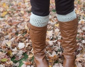 Crochet Boot Cuffs/Leg warmers