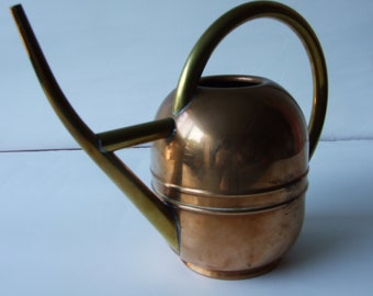 Vintage Cooper/Brass Teakettle by Chase