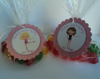 Ballet Birthday Party Favor Bags