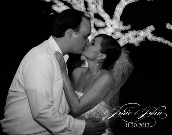 Modern and Elegant Wedding Thank You Postcards-Burgues Script, Customize with Your Own Photo, Colors, Etc.