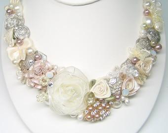Blush necklace | Etsy