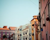 Life in colour, 8x10. Lisbon, soft colors, calm and cheerful fine art photography