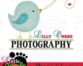 Premade Little Birdie Boutique Logo Design