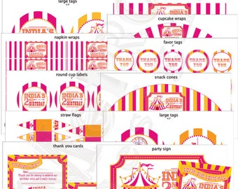 Carnival & Circus Birthday Decor