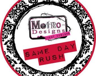 Rush Order SAME Day