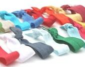 250 Wholesale Yoga Hair Ties - Bulk Fabric HairTies for Girls, Women - Wholesale Hair Accessories - Wholesale Emi Jay Like Knotted Hair Ties