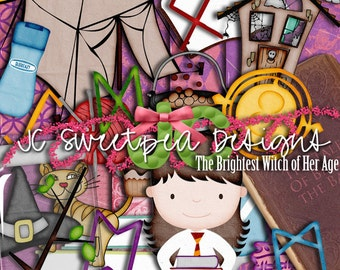 Return to Hogwarts: The Brightest Witch of Her Age Digital Scrapbooking Kit