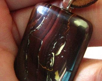 Very nice  Nature Koroit Boulder Opal Pendant