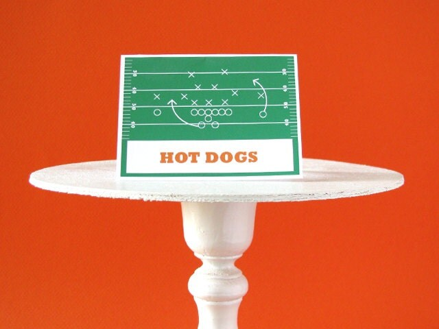 football birthday printable party football party labels sports printable football decorations - Football Decorations
