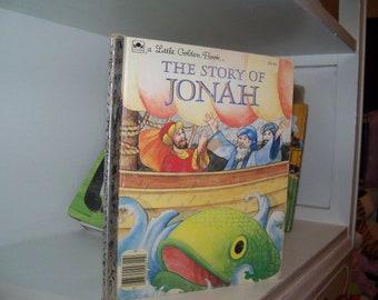 Vintage Little Golden Book The Story of Jonah