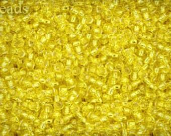 11/0 TOHO seed beads 10g Toho beads 11/0 seed beads Lemon 11-32 Yellow Yellow seed beads