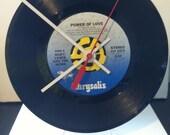 Huey Lewis & The News - Power of Love Vinyl Record Clock