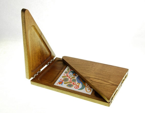 Danish Modern Style Folding Cheese Board, Tray