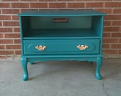 RESERVED for KATIE media console/end table or Night stand
