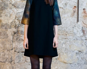 on sale -Trapeze dress black size S and M