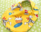 Reversible  Baby & Toddler Bibs -- Cars, Batman, Star Wars, Dr. Seuss Snoopy -- children dress baby bib, Toddler bib, baby wear, Baby Shower