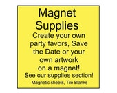 Magnet Supplies, flexible craft magnetic sheets
