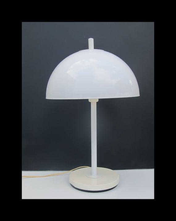 Fagerhults Sweden design Desk Table Lamp design,  1970s mid modern minimalistic mushroom lighting
