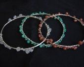 The Modern Sun Goddess--Custom Gemstone Bangles for Anessa