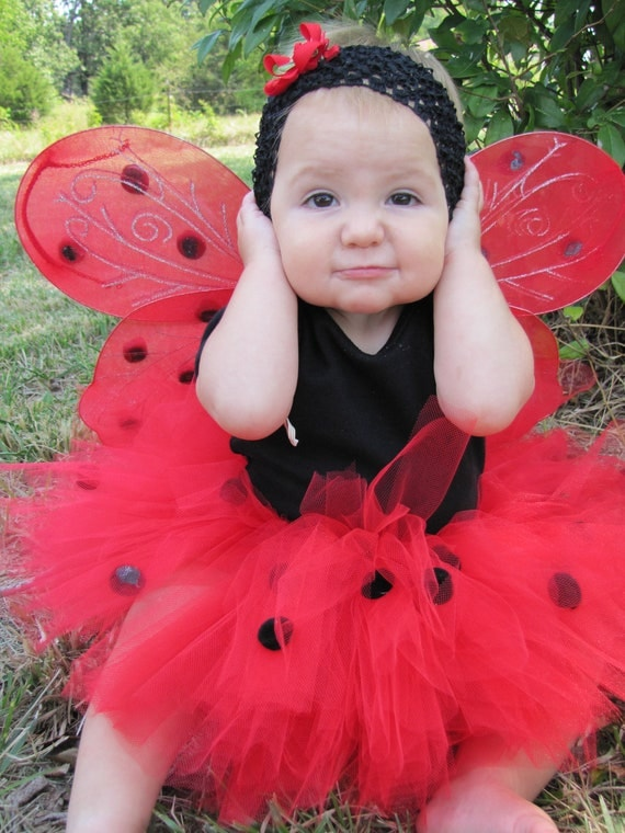 Lady Bug Tutu Costumes