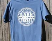 Livestock Barn Social Club Hand Screened Unisex Tshirt