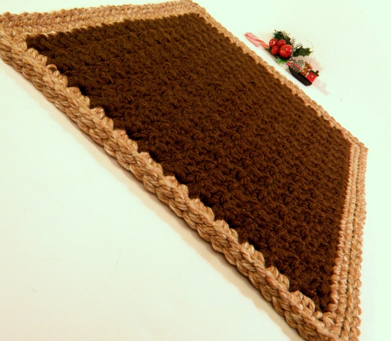 Travel Pet Bed Small Pet Rug Crochet Cat Mat Thick