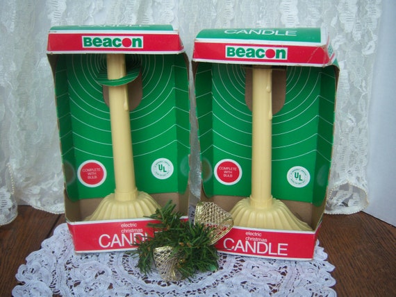 Vintage Electric Candles