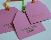 Thank You Gift Tags - 3 Assorted