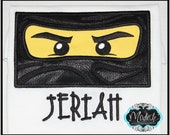 Custom Listing for N. Reyes-Black Ninjago Custom Personalized Appliqued Embroider Patch.